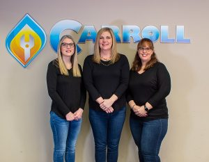 Carroll Plumbing Office Team